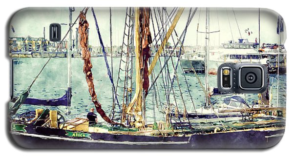 Portsmouth Harbour Boats Galaxy S5 Case