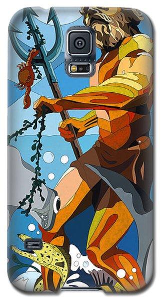 Poseidon - W/hidden Pictures Galaxy S5 Case