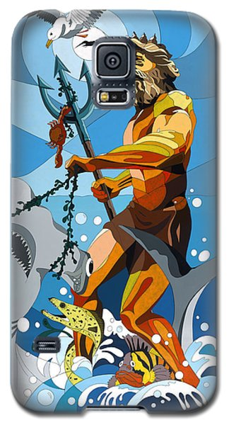Poseidon - W/hidden Pictures Galaxy S5 Case