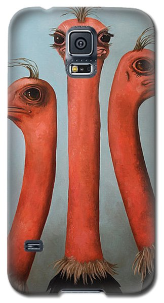 Posers 2 Galaxy S5 Case by Leah Saulnier The Painting Maniac