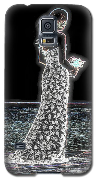 Posing Shyly Galaxy S5 Case by Leticia Latocki