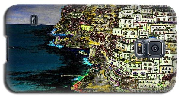 Positano At Night Galaxy S5 Case by Loredana Messina