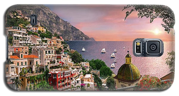 Positano Galaxy S5 Case by Dominic Davison