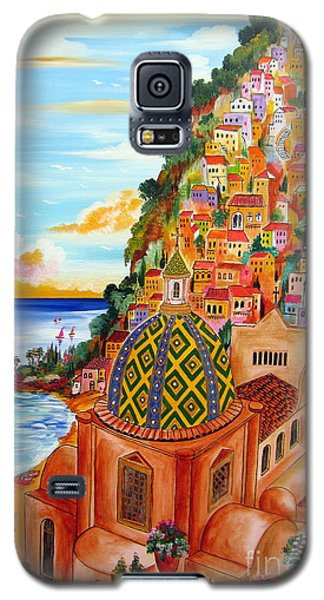 Positano In My Fantasy Galaxy S5 Case by Roberto Gagliardi