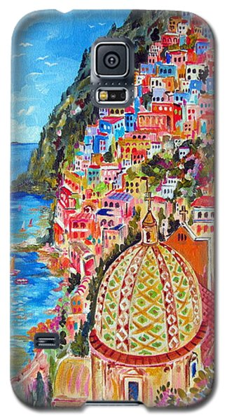 Positano Pearl Of The Amalfi Coast Galaxy S5 Case by Roberto Gagliardi