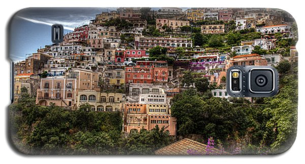 Galaxy S5 Case featuring the photograph Positano by Uri Baruch