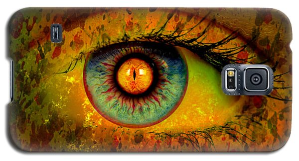 Possessed Galaxy S5 Case by Ally  White