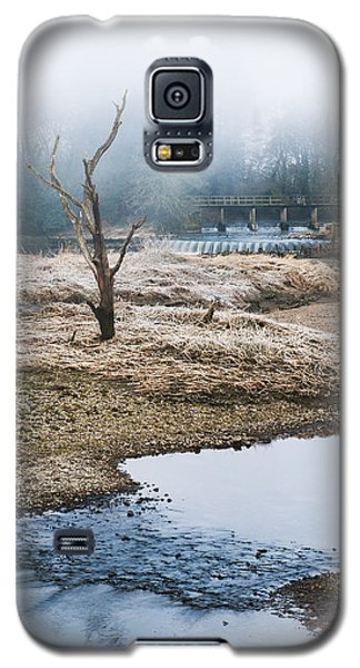 Galaxy S5 Case featuring the photograph Post Apocalyptic Landscape by Trevor Chriss