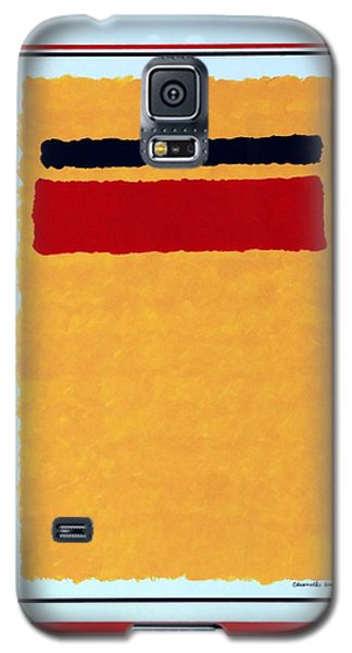 Galaxy S5 Case featuring the painting Post Modern Modern by Thomas Gronowski