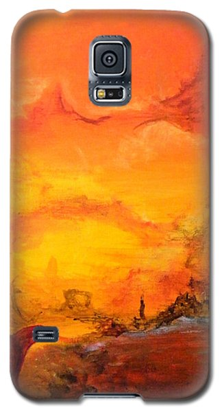 Post Nuclear Watering Hole Galaxy S5 Case