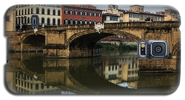 Galaxy S5 Case featuring the photograph Postcard From Florence  by Georgia Mizuleva
