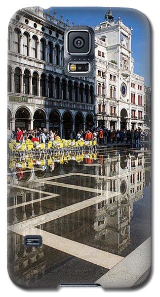 Galaxy S5 Case featuring the photograph Postcard From Venice by Georgia Mizuleva