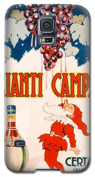 Poster Advertising Chianti Campani Galaxy S5 Case by Necchi