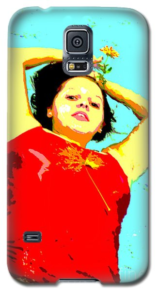 Galaxy S5 Case featuring the photograph Poster Girl 2 by Randi Grace Nilsberg