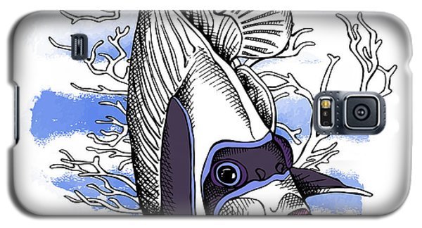 Branch Galaxy S5 Case - Poster With Image Of Fish Emperor by Afishka