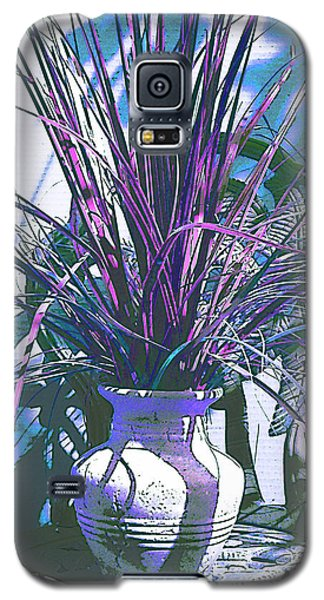 Potted In Blue Galaxy S5 Case