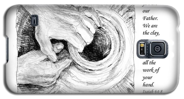 Potter And Clay Galaxy S5 Case by Janet King