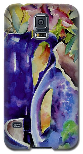 Pottery And Flowers Galaxy S5 Case