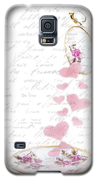 Pouring My Heart Out Galaxy S5 Case