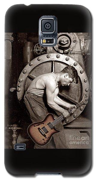 Power Chord Mechanic Galaxy S5 Case by Martin Konopacki