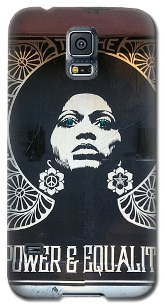 Cause Galaxy S5 Case - #power #equality by Natalie Paz