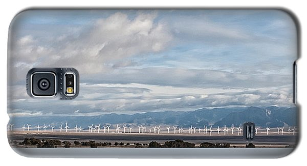 Power From The Wind In Western Skies Galaxy S5 Case by Michael Flood