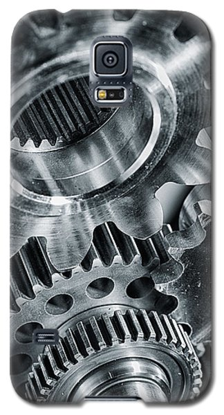 Power Gears And Cogwheels Enginnering And Technology Galaxy S5 Case