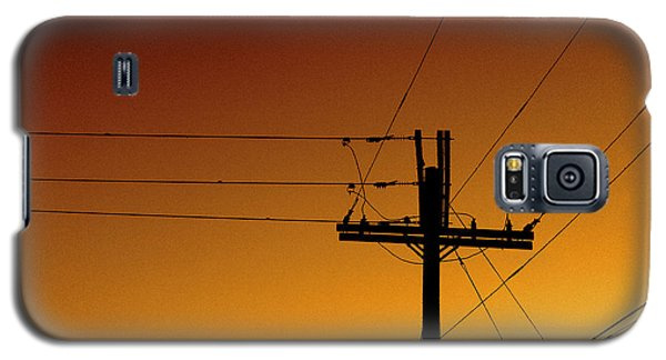 Power Line Sunset Galaxy S5 Case