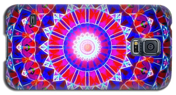 Galaxy S5 Case featuring the digital art Power Of The Circle by Mario Carini