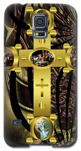 Galaxy S5 Case featuring the photograph Power Of The Cross 2 by Robert Kernodle