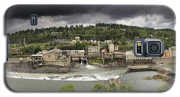 Power Plant At Willamette Falls Lock Galaxy S5 Case