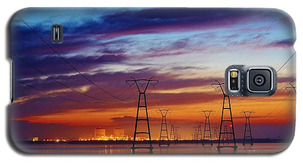 Power Plant On The Rise Galaxy S5 Case by Lynda Dawson-Youngclaus