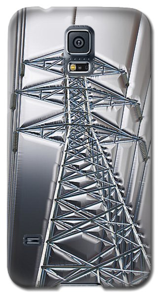 Power Station - Cool Optimized For Metallic Paper Galaxy S5 Case