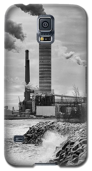 Galaxy S5 Case featuring the photograph Power Station by Ricky L Jones