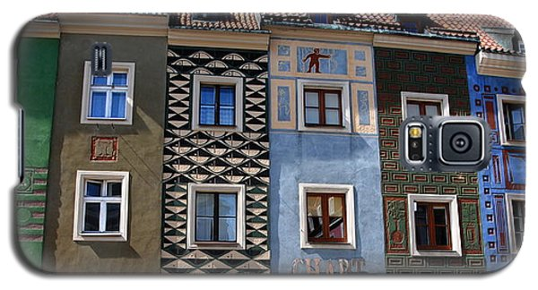 Poznan Town Houses Galaxy S5 Case