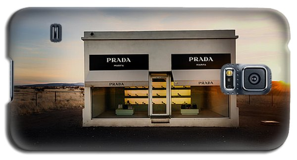 Prada Marfa Galaxy S5 Case by Mountain Dreams