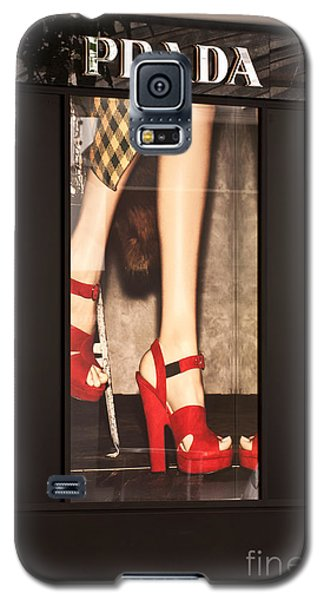 Prada Red Shoes Galaxy S5 Case