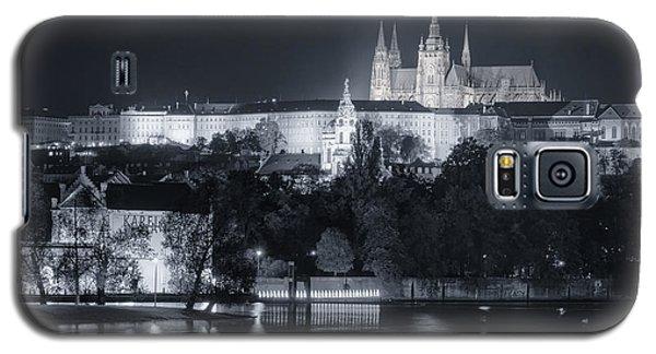 Prague Castle At Night Galaxy S5 Case