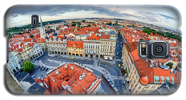 Prague From Above Galaxy S5 Case