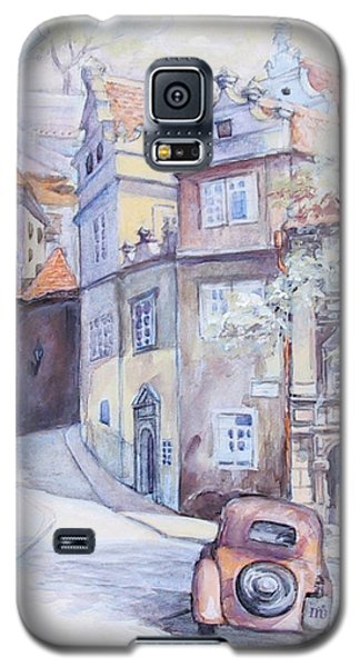 Prague Golden Well Lane Galaxy S5 Case