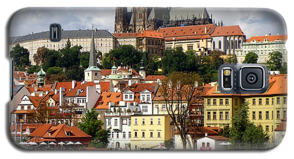 Galaxy S5 Case featuring the photograph Prague Skyline by Ira Shander