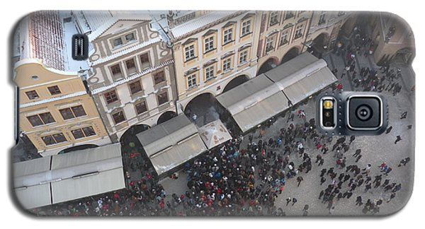 Galaxy S5 Case featuring the photograph Prague Market by Deborah Smolinske