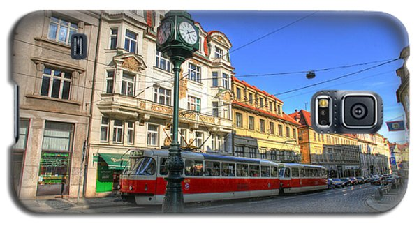 Prague Streetcar Galaxy S5 Case