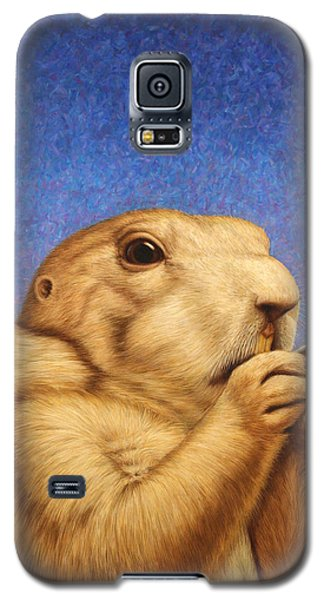 Wildlife Galaxy S5 Case - Prairie Dog by James W Johnson