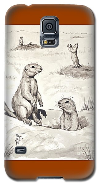 Prairie Dog Town Galaxy S5 Case