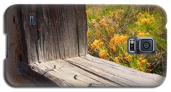 Galaxy S5 Case featuring the photograph Prairie Flowers by Irma BACKELANT GALLERIES