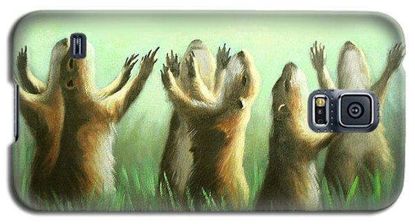 Praising Prairie Dogs Galaxy S5 Case