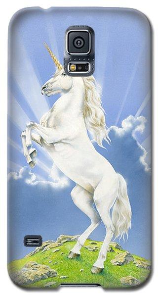 Prancing Unicorn Galaxy S5 Case by Irvine Peacock