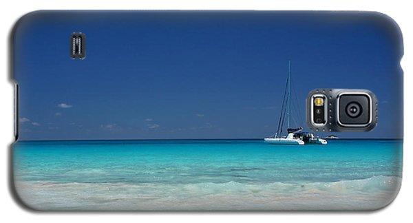 Praslin Island Catamaran Galaxy S5 Case