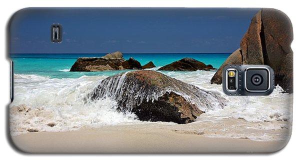 Praslin Island Waves Galaxy S5 Case